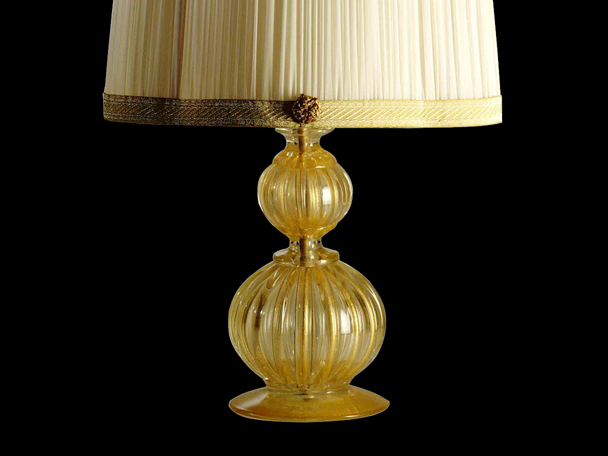 Murano Clear Glass Decorative Lamps