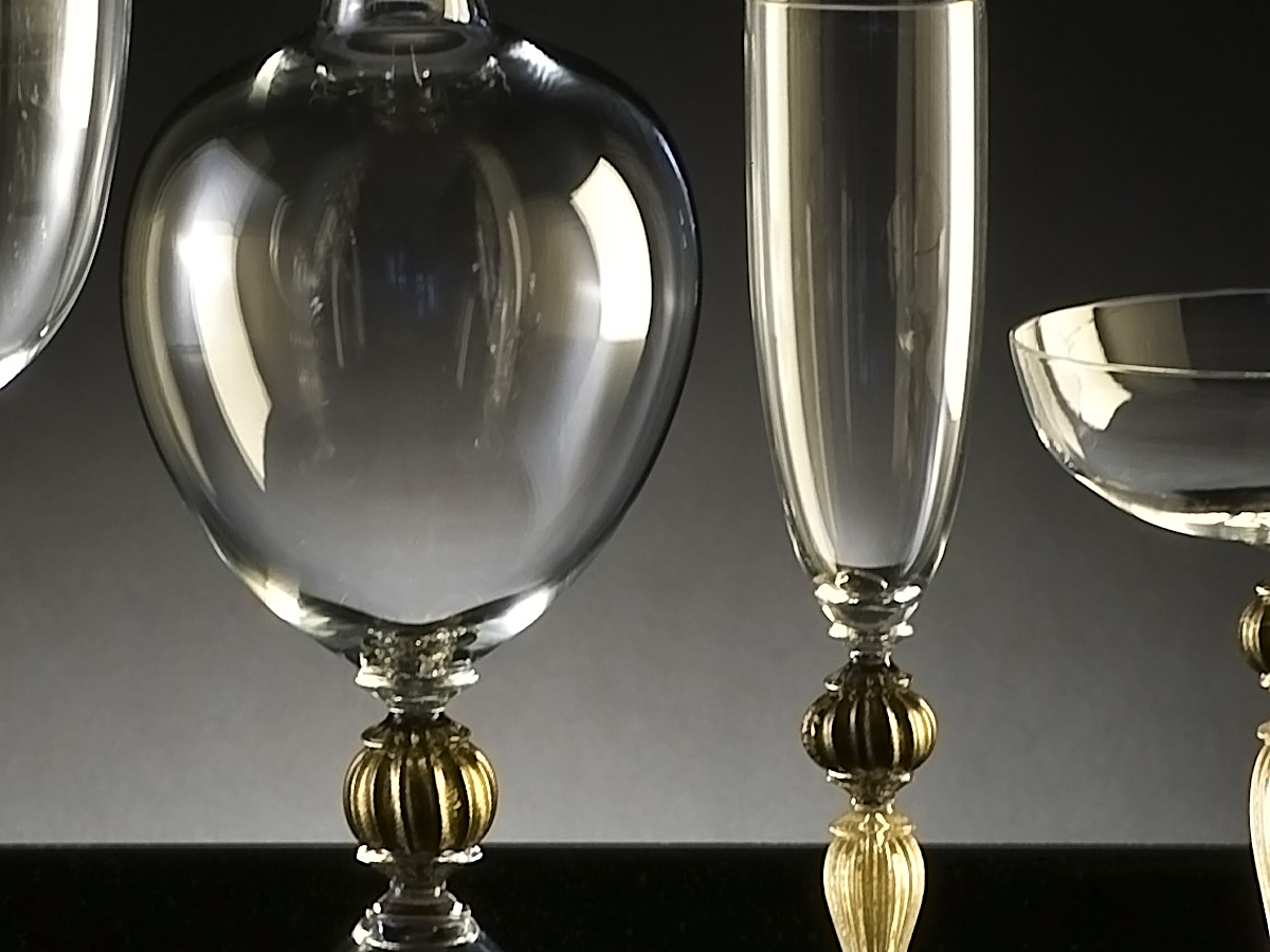 Seguso Gianni Murano Glassware Sets