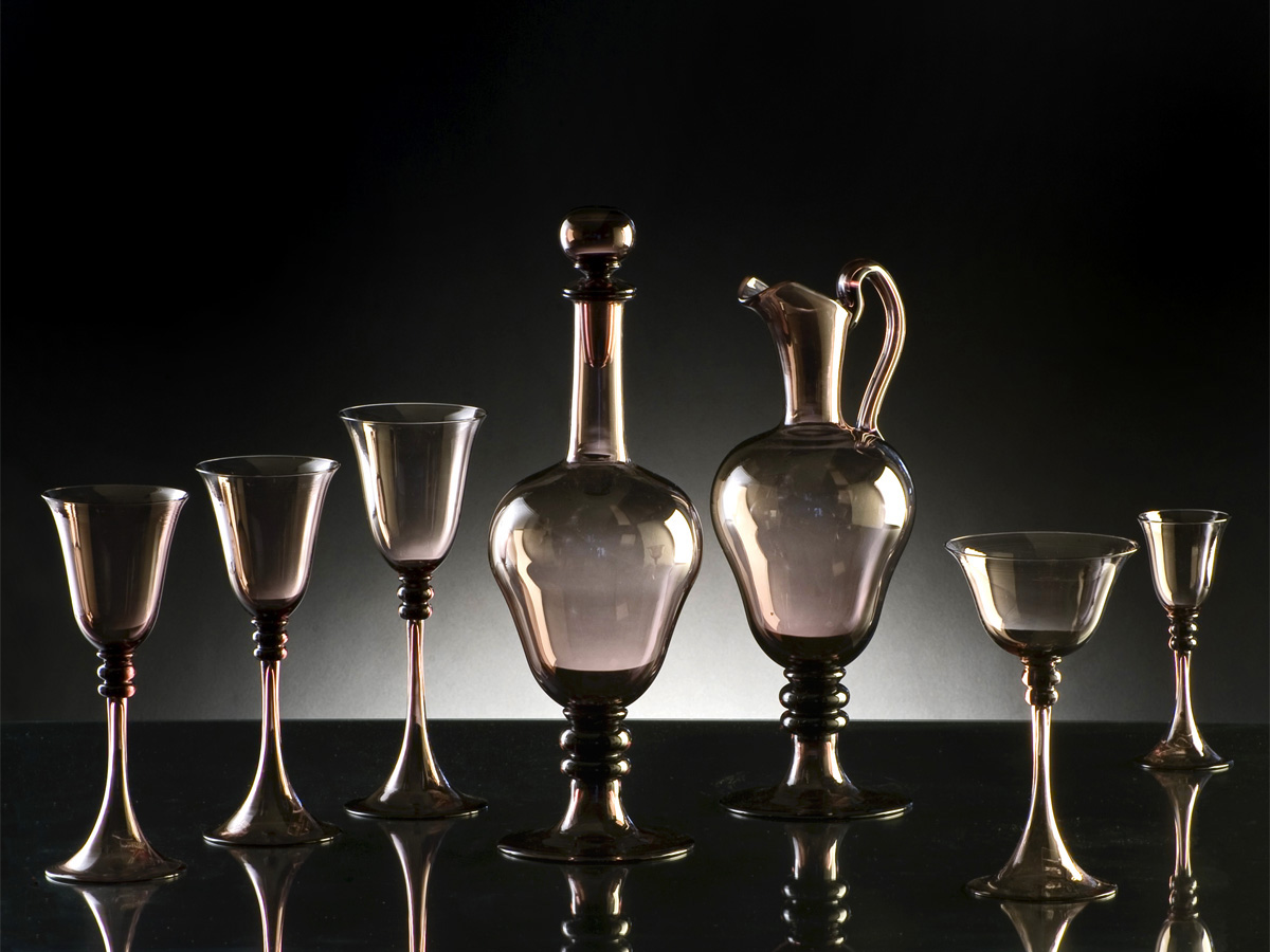 Seguso Gianni Clear Glassware Creations
