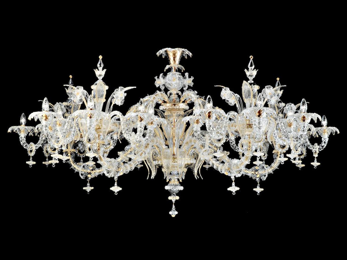 Murano Glass Rezzonico Chandeliers